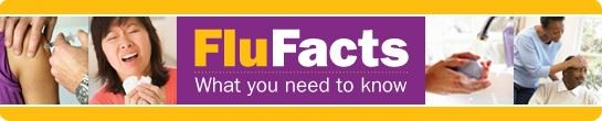 Flu Facts Banner Image. To call attention to information regarding influenza and/or flu clinics.