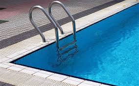 Inground Swimming Pool Image. To promote water safety and provide permitting information