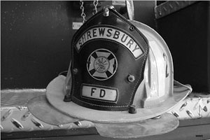Shrewsbury Fire Department Helmet