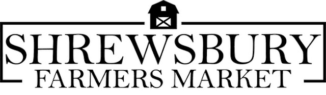 Shrewsbury Farmers Market Logo. To promote local farmer and crafter's products.