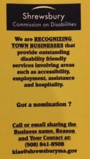 Commission on Disabilities Business Nomination Flyer