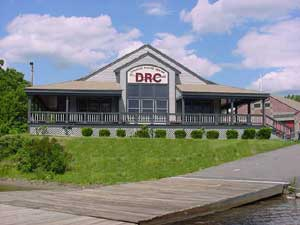 Donahue Rowing Center building