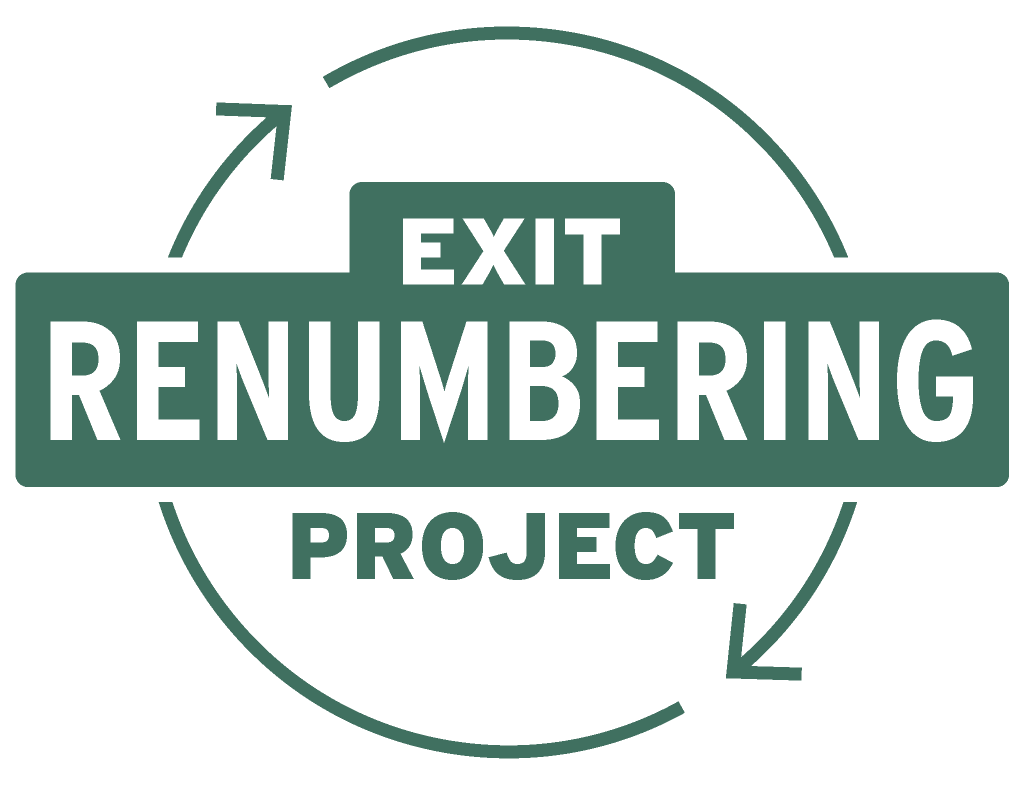 Exit Renumbering Project Image