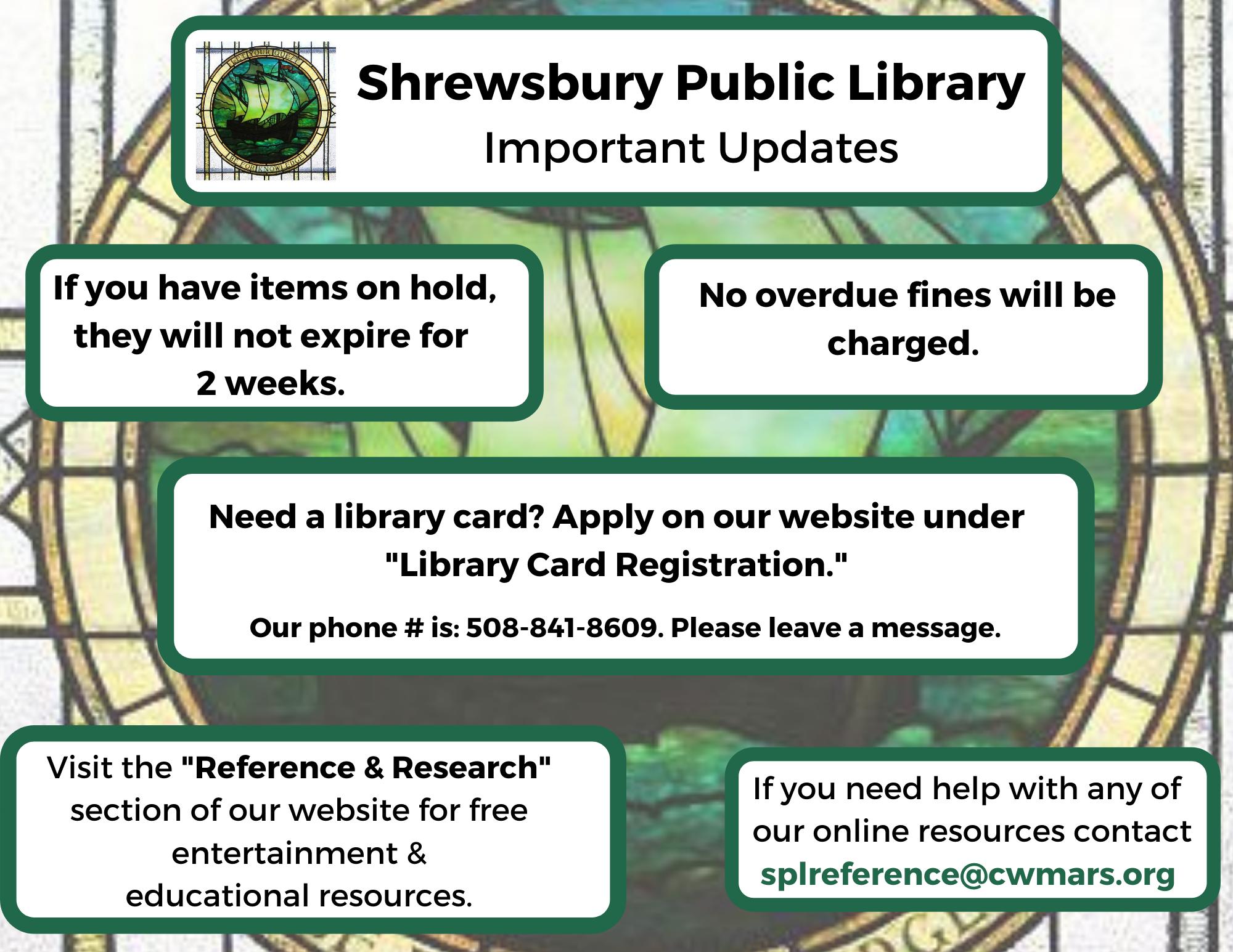 Library Shrewsbury Ma