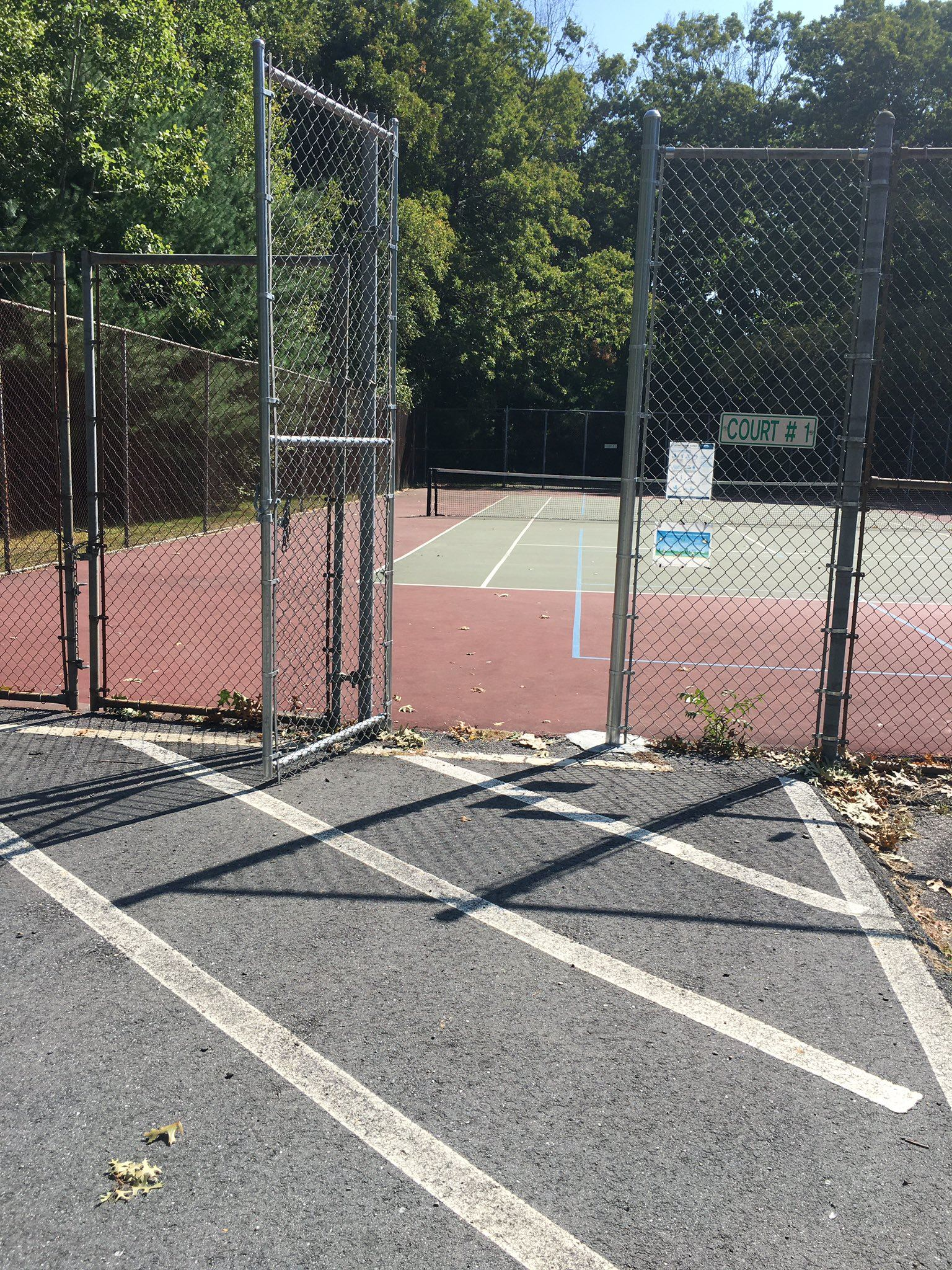 Pickleball Court Coolidge School