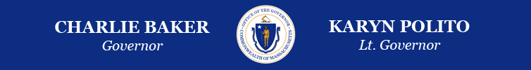 image of the Baker-Polito Administration logo