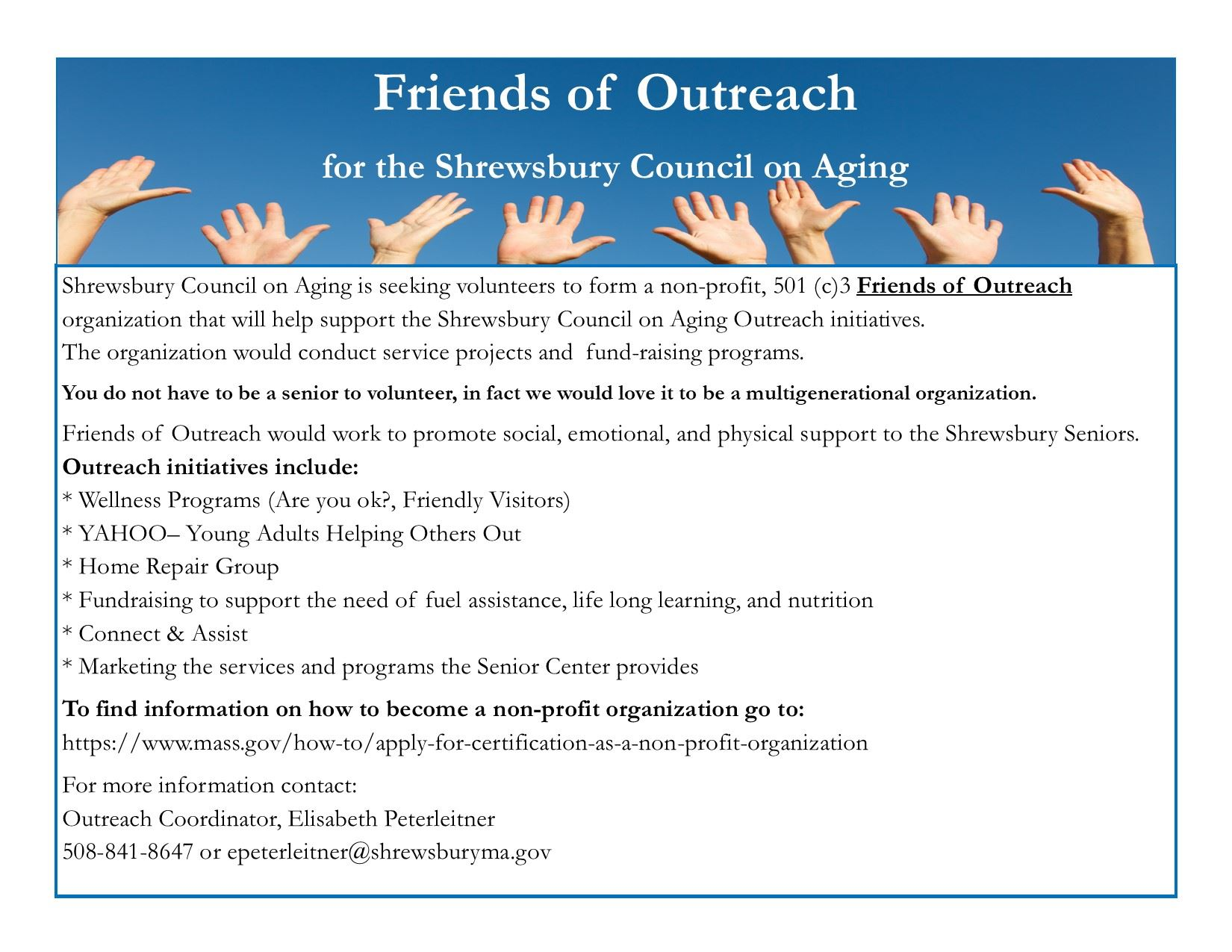 Friends of Outreach