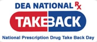 Drug Enforcement Agency (DEA) takeback logo